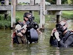 Marine Divers Train at New Open-Water Site