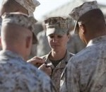 Face of Defense: Combat Engineer Becomes First Female 'Gunny'