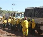 National Guard Assets Continue Fight Against Western Blazes