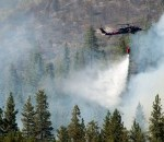 National Guard Battles Northern California Wildfires