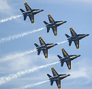Blue Angels Sponsor New Sailors