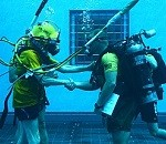 Navy Divers Test New Equipment