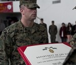 Marine Recognized for Providing Honors to More Than 1,000 Fallen Marines