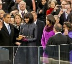 Obama Takes Oath of Office Recognizing Military Contributions
