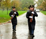 Old Guard Soldiers brave Hurricane Sandy to render honors, ensure others' safety