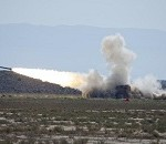 Improved Multiple Launch Rocket System tested at White Sands Missile Range
