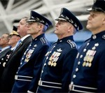 Schwartz, Welsh Pay Tribute to Airmen at Air Force Transition