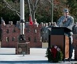 South Carolina National Guard Engineer Unit Dedicates Memorial to Fallen Comrades