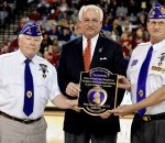 TROY Becomes First University to be 'Purple Heart'