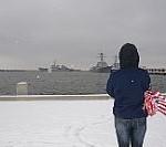 USS Cole Returns Home
