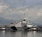 Navy's First Littoral Combat Ship Visits Pearl Harbor
