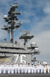 USS Ronald Reagan Departs for Japan