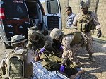 US Navy Corpsmen, Marines Contribute to Life-Saving Efforts in Iraq
