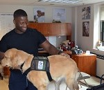 Warriors Receive Therapy Through Service Dog Training Program