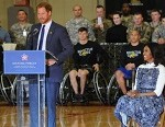 Wounded Warriors, Prince Harry Inspire Each Other