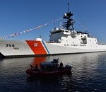 Coast Guard Cutter James Enters the Fleet