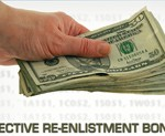 Reenlistment Bonuses Up for Grabs in FY 2012