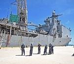 Ashland and 31st MEU Transport Water into Saipan