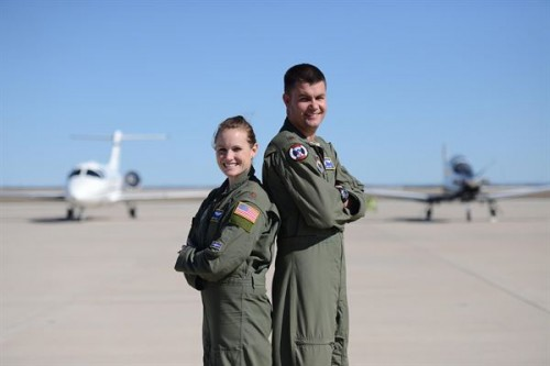 Air Force Couple Balances Military and Personal Lives
