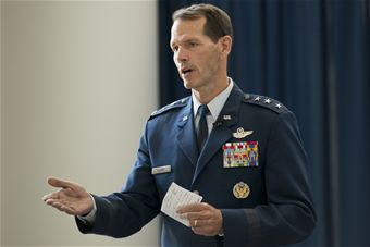Air National Guard Director Stanley E. Clarke Retires