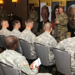 Cadet Marshals Receive Mentoring from Top Cadet Command Leadership