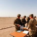 Infantrymen Across Southwest Asia Train for EIB Test