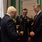 Last of Four MANG Soldiers Receives Soldier's Medal for Heroism During Boston Bombings