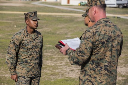 Marine Takes Action to Prevent Suicide