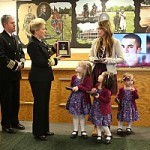 Purple Heart Ceremony Honors Logistics Specialist 2nd Class Randall Smith