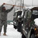 Va. National Guard Continues Assistance After Historic Snowstorm
