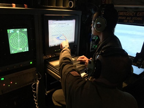 Hurricane Hunters Fly Research Missions