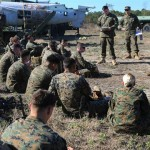 Marines Conduct Aircraft Training