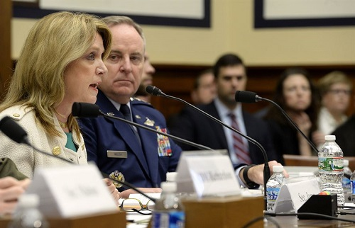 Air Force Leaders Present FY 2017