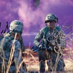 British and US Troops Collaborate in Technology Experiments During AEWE 2016