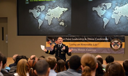 Vice Chief Urges Students