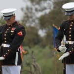 Marine Corps Tradition Returns: Battle Color Detachment Performs at MCAS Miramar