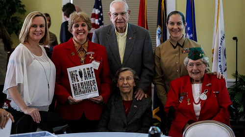 Women Celebrate 73 Years of Service