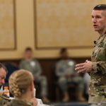 SMA Talks Total Army and Responsible Drawdown with Troops
