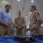 Carter discusses ISIL and Iran with Airmen in United Arab Emirates