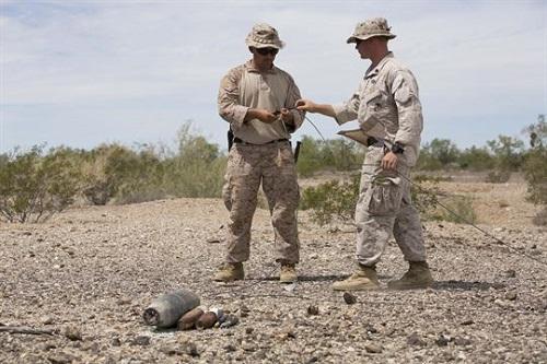 Marine EOD Technicians