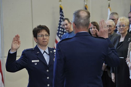 Nebraska Air Guard's First Female General