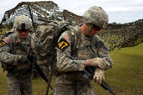 Army Guard Soldiers Win Best Ranger Competition
