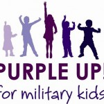 Get Your Purple On to Recognize Military Children