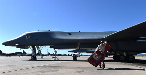 B-1 Airborne