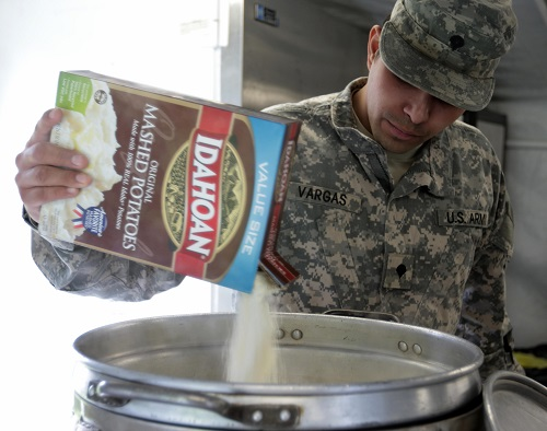 Army-Wide Cooking challenge