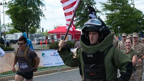 Marines Host Half Marathon