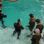 Underwater Egress Survival Training
