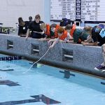 MARMC Volunteers Judge Underwater Robotics Competition
