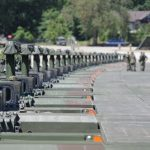 World Record Set for Longest Amphibious Vehicle Bridge During Exercise Anakonda 2016