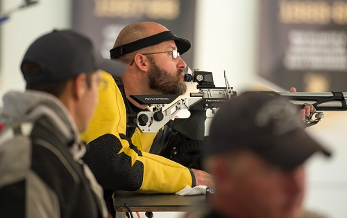 Air Rifle and Pistol Competitions at Warrior Games